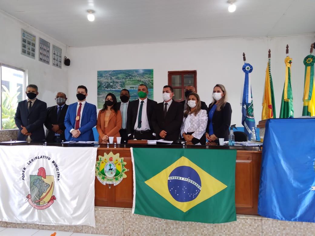 DELEGADO DE POLICIA CIVIL MARCA PRESENÇA NA 3º SESSÃO ORDINÁRIA NA CÂMARA MUNICIPAL